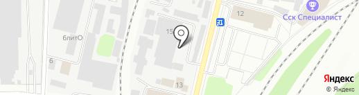 Аксель-кидс на карте Мытищ