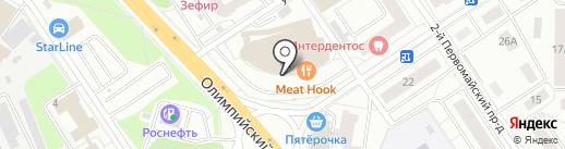 Ай Поинт на карте Мытищ