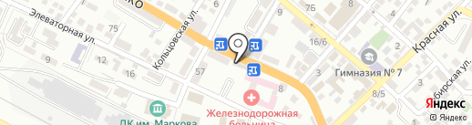 Ice на карте Новороссийска