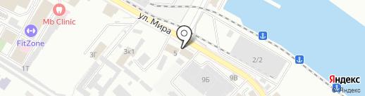 PIT-STOP на карте Новороссийска