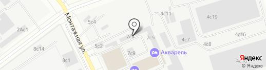 Магазин Тепла на карте Москвы