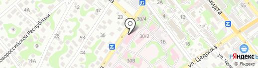 Фрезениус Медиал Кеа Кубань на карте Новороссийска