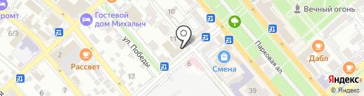 ВТБ Медицина на карте Новороссийска