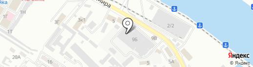 АзияЭксперт на карте Новороссийска