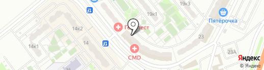 ДМД-Электрик на карте Домодедово