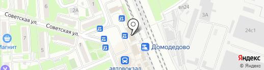 Евросеть на карте Домодедово