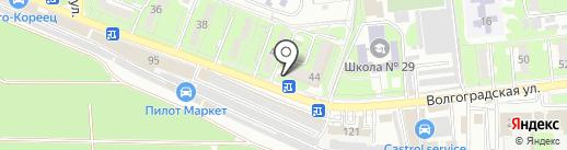Эталон на карте Новороссийска