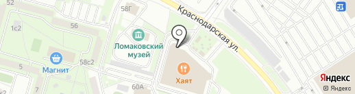 BootBuster на карте Москвы