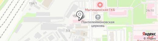 Королёвская станция скорой медицинской помощи, ГБУЗ на карте Мытищ