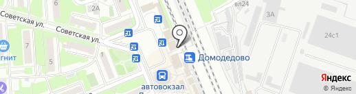 Соседи на карте Домодедово