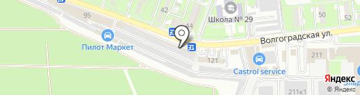 ЗИП на карте Новороссийска