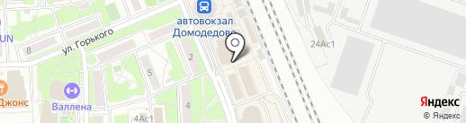 Антур на карте Домодедово
