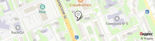 АЛЕКС-ТУР на карте Домодедово