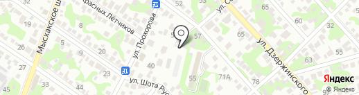Эталон Строй Инвест на карте Новороссийска