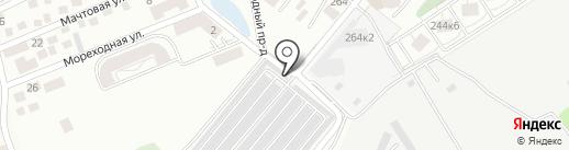 MEANVRSK.RU на карте Новороссийска