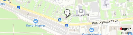 Детская библиотека №6 на карте Новороссийска
