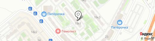 Ремонтная компания на карте Домодедово