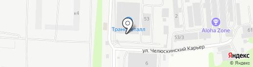 Управление Механизации № 8 на карте Мытищ