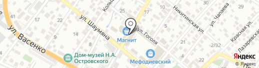 Магазин игрушек на карте Новороссийска