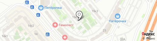 Мастер на карте Домодедово