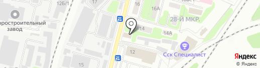 A & R на карте Мытищ