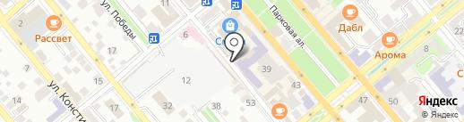 Красная шапочка на карте Новороссийска