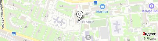 Френсис Дрейк на карте Новороссийска