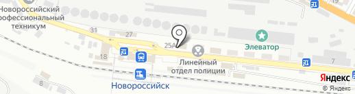 Банк ВТБ 24, ПАО на карте Новороссийска