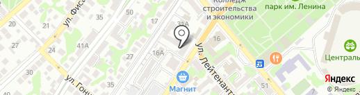Smoky Boss на карте Новороссийска