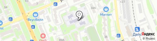 Детский сад №4, Подснежник на карте Домодедово