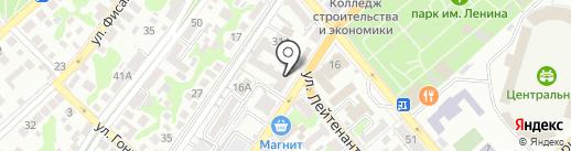 УЗД-Юг на карте Новороссийска