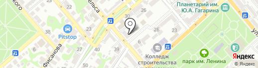 МИР ИНКУБАТОРОВ на карте Новороссийска