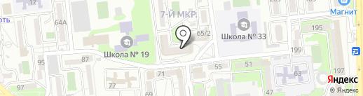 Мир обоев на карте Новороссийска