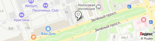 СтройКонсалт на карте Москвы