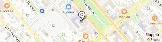 Модники на карте Новороссийска