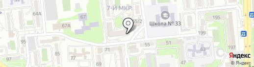 Кимерия на карте Новороссийска