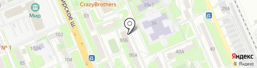 Три поросёнка на карте Домодедово