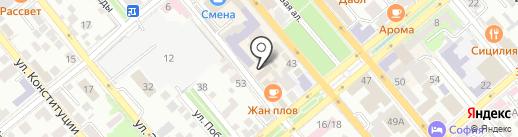 СПРУТ на карте Новороссийска
