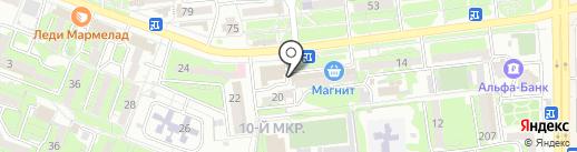 НЭСК на карте Новороссийска