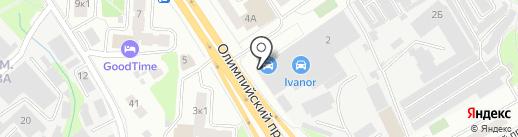 DLW Print на карте Мытищ