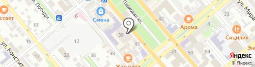 Rivale на карте Новороссийска