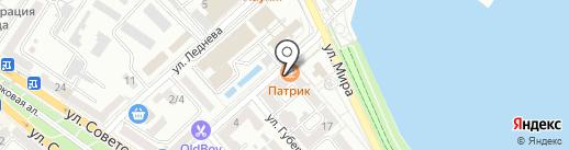 Харби на карте Новороссийска