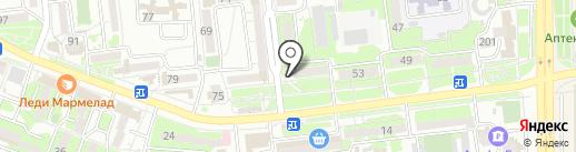 Библиотека №4 им. А.С. Пушкина на карте Новороссийска