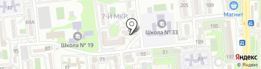 Venera на карте Новороссийска