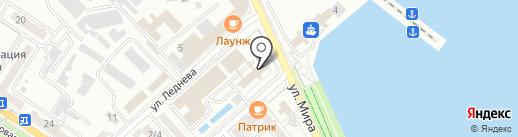 Панальпина Уорлд Транспорт на карте Новороссийска