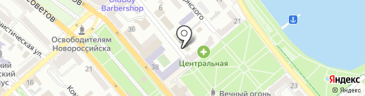 Васюринский МПК на карте Новороссийска