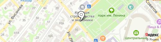 Rampage на карте Новороссийска