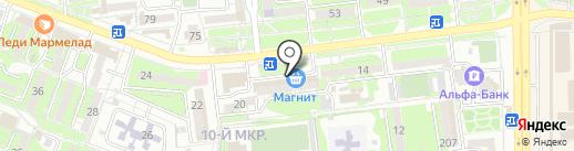 Оптовичок на карте Новороссийска