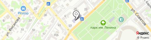 Новороссийский колледж строительства и экономики на карте Новороссийска