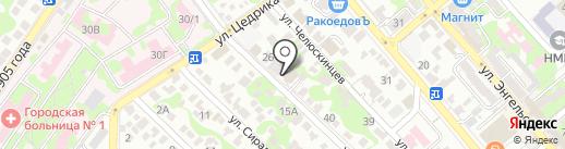 Региональный центр проектов и экспертиз на карте Новороссийска